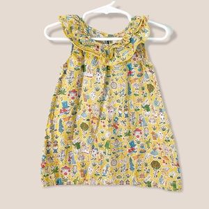 Peek Girls' Alice In Wonderland Dress 18-24M